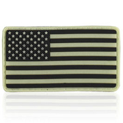 3D Rubber Patch USA nachleutend