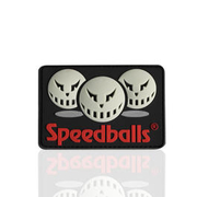 3D Rubber Patch Speedballs 3 Gesichter
