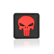 3D Rubber Patch Punisher blackmedic