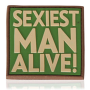 3D Rubber Patch Sexiest Man Alive multicam