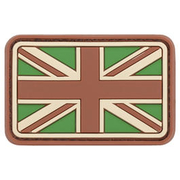 3D Rubber Patch United Kingdom multicam
