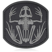 3D Rubber Patch Frog Skeleton swat