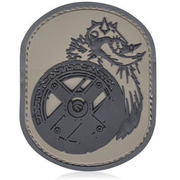 3D Rubber Patch Berserker acu
