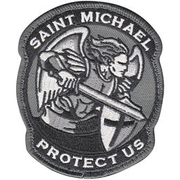 Mil-Spec Monkey Saint Michael Modern Patch swat