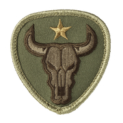 Mil-Spec Monkey Patch Bull Skull multicam