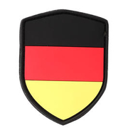 101 INC. 3D Rubber Patch Schild Deutschland