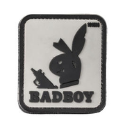 101 INC. 3D Rubber Patch Badboy grau