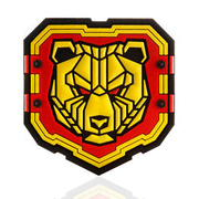 Mil-Spec Monkey 3D Rubber Patch Industrial Bear fullcolor