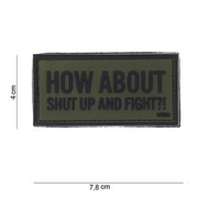 101 INC. 3D Rubber Patch How about oliv/schwarz