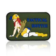 101 INC. 3D Rubber Patch Tactical Hottie oliv