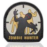 MFH 3D Rubber Patch Zombie Hunter