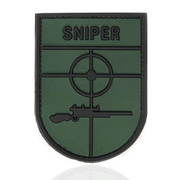 101 INC. 3D Rubber Patch Sniper grün/schwarz