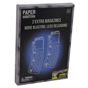 Paper Shooters Bausatz Magazin Zombie Slayer 2er Pack