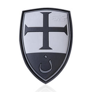 JTG 3D Rubber Patch Crusader Shield blackops