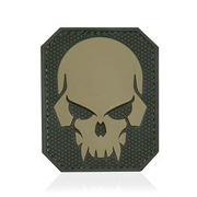 Mil-Spec Monkey 3D Rubber Patch Pirateskull Large multicam