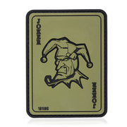 101 INC. 3D Rubber Patch Joker oliv