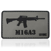 101 INC. 3D Rubber Patch M16A3