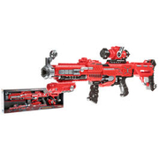 Johntoy Dartblaster Serve & Protect Shooter mit Visier inkl. 20 Pfeilen