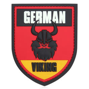 3D Rubber Patch German Viking