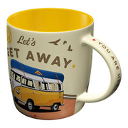 VW Tasse VW Bulli Let´s Get Away
