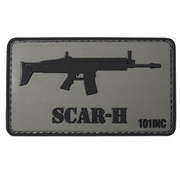 101 INC. 3D Rubber Patch Scar-H