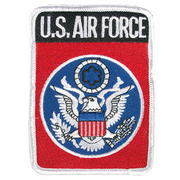 Textil Patch U.S. Air Force mit Bügelfläche