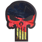 JTG 3D IR Patch BIG Punisher Patch mit Deutschlandflagge