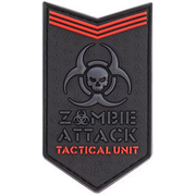 JTG 3D Rubber Patch Zombie Attack blackops