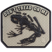 JTG 3D Patch Don´t tread on me frog blackops