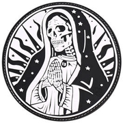 JTG 3D Rubber Patch Santa Muerte Patch swat