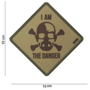 101 INC. 3D Rubber Patch I am the danger coyote