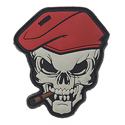 101 INC 3D Rubber Patch Skull Zigarre