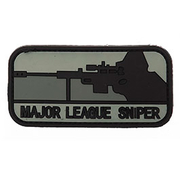 3D Rubber Patch Major League Sniper