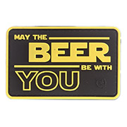 JTG 3D Rubber Patch May The Beer With You