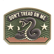 Mil-Spec Monkey 3D Rubber Patch Don´t Tread On Me multicam
