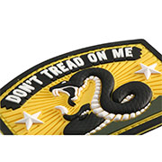Mil-Spec Monkey 3D Rubber Patch Don´t Tread On Me fullcolor