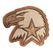Mil-Spec Monkey Patch Eagle Star desert