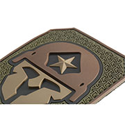 Mil-Spec Monkey 3D Rubber Patch Modern Spartan forest