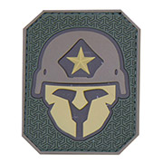 Mil-Spec Monkey 3D Rubber Patch Modern Spartan multicam
