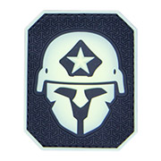 Mil-Spec Monkey 3D Rubber Patch Modern Spartan glow