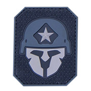Mil-Spec Monkey 3D Rubber Patch Modern Spartan urban