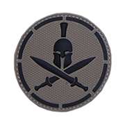 Mil-Spec Monkey 3D Rubber Patch Spartan Helmet acudark