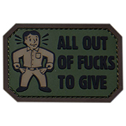 Mil-Spec Monkey 3D Rubber Patch All Out forest
