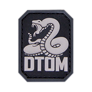 Mil-Spec Monkey 3D Rubber Patch DTOM swat