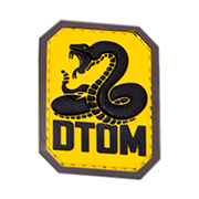 Mil-Spec Monkey 3D Rubber Patch DTOM fullcolor