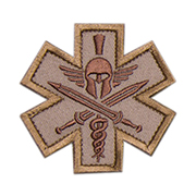 Mil-Spec Monkey Patch Tactial Medic - Spartan desert