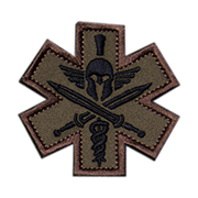 Mil-Spec Monkey Patch Tactial Medic - Spartan forest