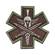 Mil-Spec Monkey Patch Tactial Medic - Spartan multicam