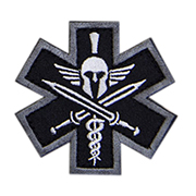 Mil-Spec Monkey Patch Tactial Medic - Spartan swat