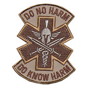 Mil-Spec Monkey Patch Do No Harm - Spartan desert